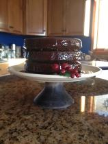 Rooibos Chocolate Caramel Cake